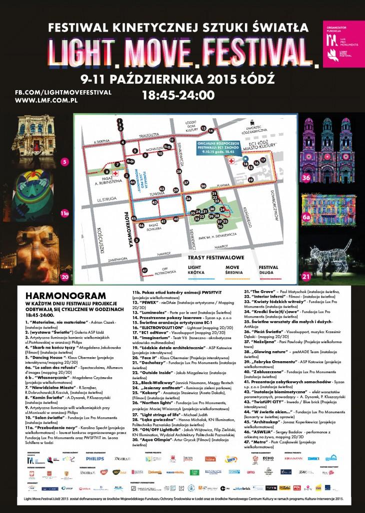 LMF 2015 - harmonogram